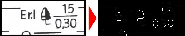 Center Line Tracing
